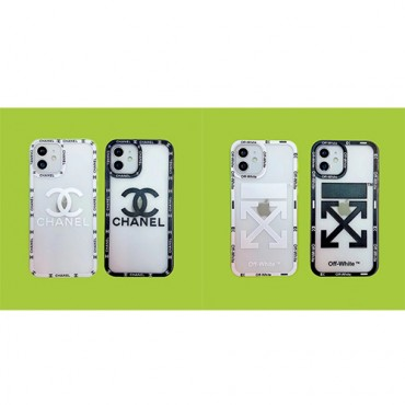 chanel off white clear iphone 13 12 pro max 13 mini case cover black white brand luxury desinger iphone xr xs max case cover