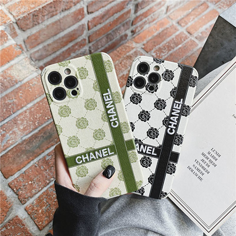 Luxury iPhone 13/12s Pro max Case Back Cover chanel