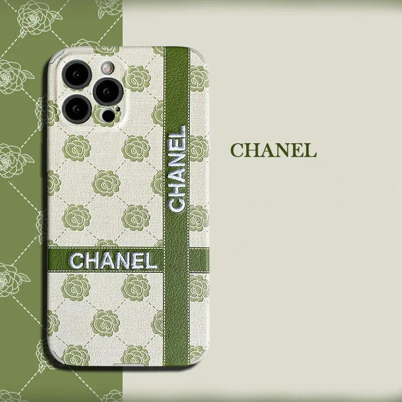 chanel talent iphone 13 mini case flower