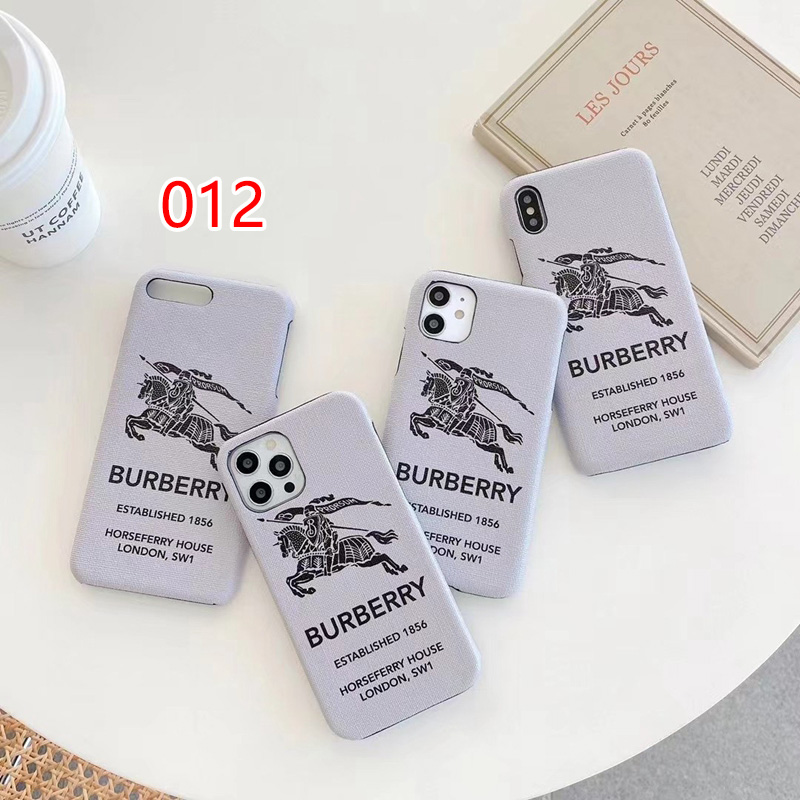 Burberry Style simple iphone 13 12 pro max case