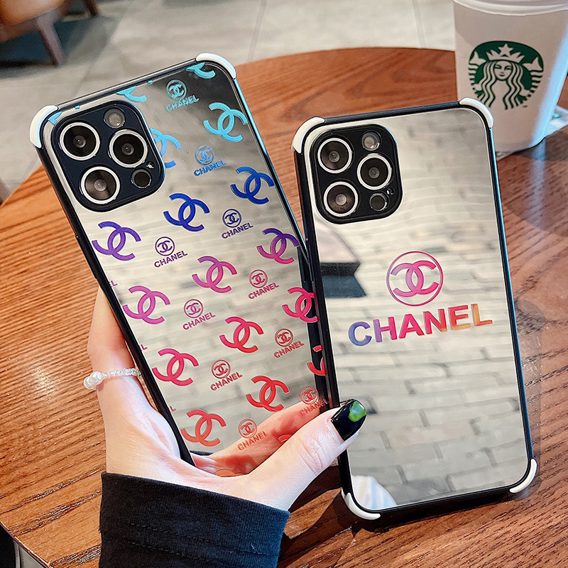 Chanel Mirror Surface Cover case For iPhone 13