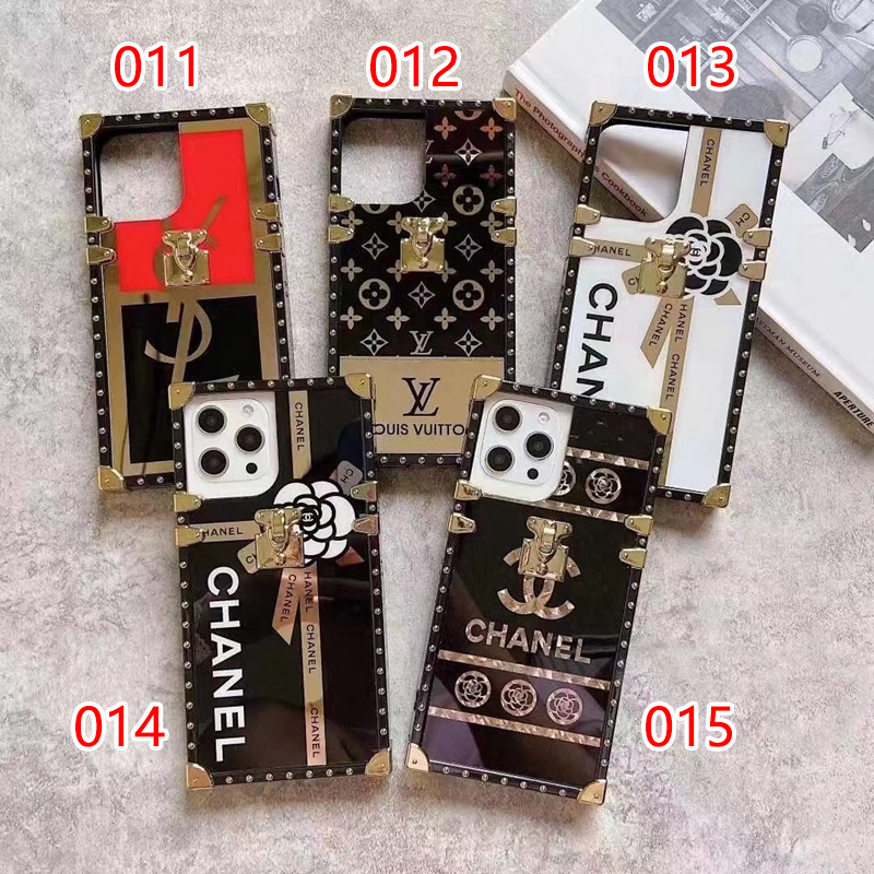 ysl chanel lv trunk iphone13 case